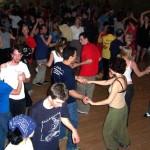 Full dance floor for Jungle Swing