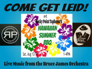 Hot Jazz and Hawaiian BBQ! @ Rocky Point Taphouse  | Port Moody | British Columbia | Canada