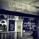 BJO July 27 at cottage-bistro