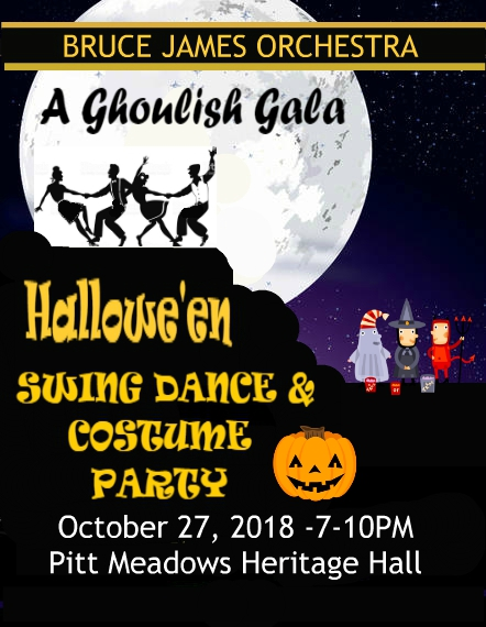 A Ghoulish Gala: Hallowe'en Dance, Show & Costume Party @ Pitt Meadows Heritage Hall | Pitt Meadows | British Columbia | Canada