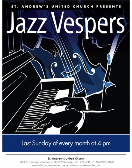 St. Andrews' United North Vancouver Jazz Vespers @ St Andrews United Church